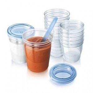Philips Avent SCF720/10 - Pots de conservation pour purée