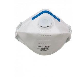 Singer Frères X20 Demi-masques pliables FFP3 NR D avec valve Singer Safety ad2151dcbe81