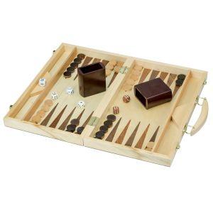 Club game Mallette backgammon luxe