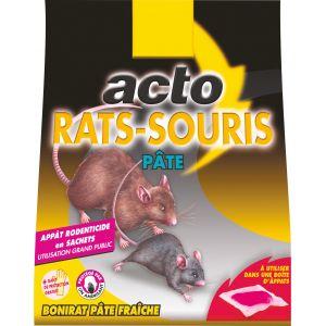 Acto Rat Souris - 15 sachets de 10 g