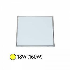 Vision-El Plafonnier LED Aluminium 297 x 297 18W 3000°K -