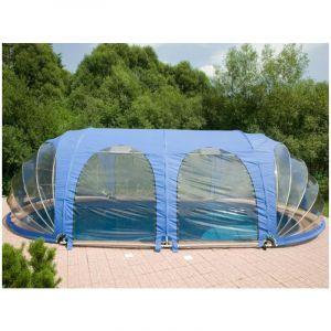Poolmarina Abri Mobile de Piscine Azuro FitMarina Ovale 4.1 x 8.1 x 2.2 m