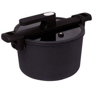 Baumalu Cuiseur basse pression noir 6 L 24 cm