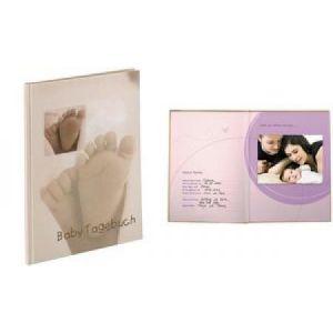 "Image de Hama 90115 - Baby-Tagebuch, Motiv: ""Baby Feel"", DIN A4"