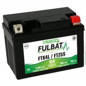 Fulbat Batterie YTZ5S 12V - 4Ah SLA
