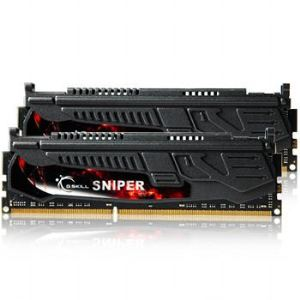 G.Skill F3-2400C11D-8GSR - Barrettes mémoire Sniper 2 x 4 Go DDR3 2400 MHz CL11 240 broches