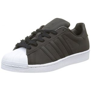 Adidas Superstar, Baskets Femme, Noir (Core Black/Core Black/Footwear White), 38 EU