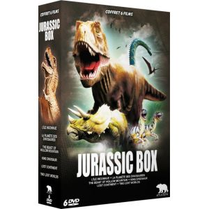 Jurassic Box : L'île inconnue + La planète des Dinosaures + The Beast of Hollow Mountain + King Dinosaur + Lost Continent + Two Lost Worlds - DVD ( Neuf )