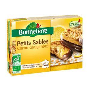 Bonneterre Petits sablés Citron Gingembre - 90g