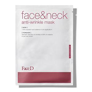 Faced Masque Anti-Rides Visage & Cou - 1 Masque