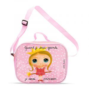 Isabelle Kessedjian Sac à goûter isotherme lunch bag Princesse