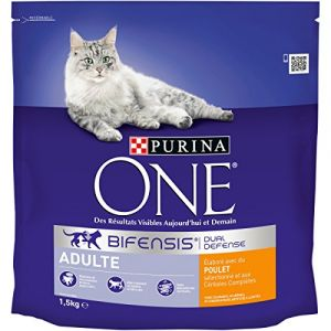 Purina ONE - Croquettes pour chat adulte lot de 6x 1,5 kg
