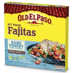 Old el paso Kit pour fajitas sans piment - Le kit de 478g