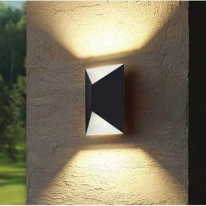 Eglo Applique murale d'extérieur PREDAZZO LED Anthracite, Blanc, 2 lumières