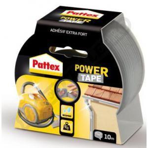 Pattex Rouleau adhésif Power Tape (gris - 50mm x 10m) - Gris - Dimensions adhésif : 50mm x 10m