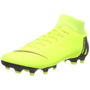 Nike Chaussure de football multi-terrainsà crampons Mercurial Superfly 6 Academy MG - Jaune - Taille 46 - Unisex
