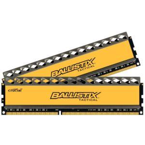 Image de Crucial BLT4CP4G3D1608DT1TX0BEU - Barrette mémoire Ballistix Tactical 4 x 4 Go DDR3 1600 MHz Dimm 240 broches