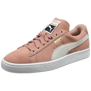 Puma Suede Classic, Sneakers Basses Femme, Marron (Cameo Brown-White), 36 EU