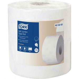 Tork Rouleaux papier toilette Jumbo Doux T1 - lot de 2