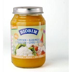 Biobim Petit pot Légumes : Citrouille-Chou-fleur 200g - dès 6 mois