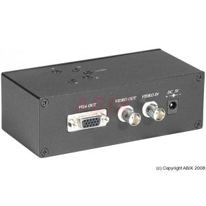 Dexlan 050919 - Convertisseur vidéo BNC vers VGA