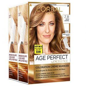 L'Oréal 7.31 Blond caramel, Coloration crème nuancée