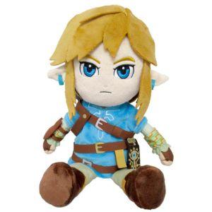 Wtt Peluche - The Legend Of Zelda : Breath Of The Wild - Link 21 Cm