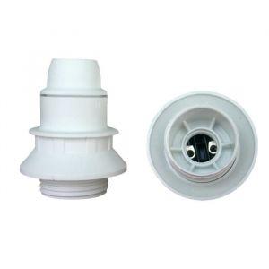 Western Digital Douille E14 Thermoplastique simple bague Blanc - NO NAME