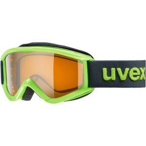 Uvex Speedy pro Lunettes de protection Enfant, lightgreen/lasergold Masques Ski & Snowboard