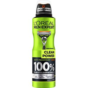 L'Oréal Men Expert Spray Clean Power Atomiseur