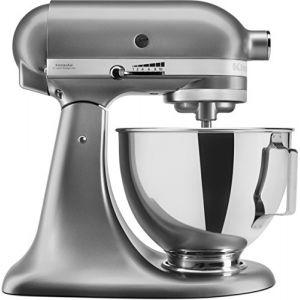 Kitchen Aid 5ksm095psecu Robot pâtissier multifonction 4,3l 300w silver