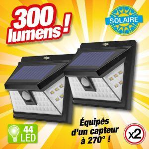 Outiror Lot de 2 projecteur solaire 44 LED