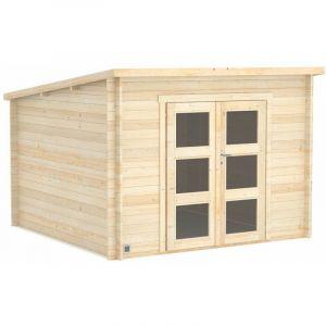 Madeira L'abri de jardin en bois brut Daintree : 8,2 m2 de stockage supplémentaire