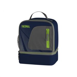 Thermos Sac isotherme lunch bag dual compartiment bleu - Radiance
