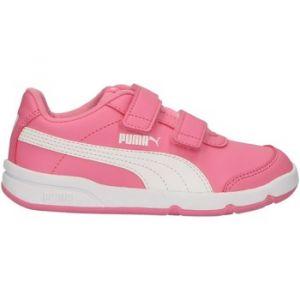 Puma Chaussures de Sport pour Garçon et Fille 192522 STEPFLEEX 11 Pink-White Taille 35