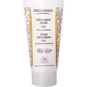 Argandia Crème Mains Argan à la Rose 75 ml Bio