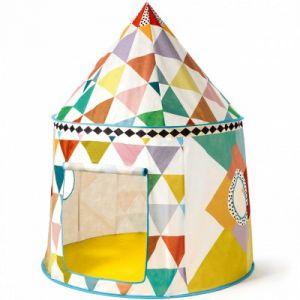 Little Big Room by Djeco Cabane en tissu pour enfant (106 x 140 cm)