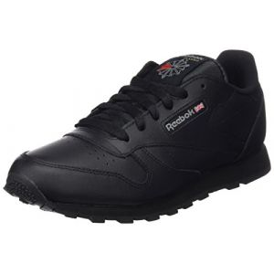Reebok Classic Leather, Basses Mixte Enfant, Noir (Black), 32 EU
