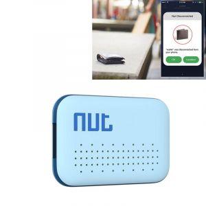 WeWoo Alarme Anti perte bleu pour iPhone, Galaxy, Huawei, Xiaomi, LG, HTC et autres smartphone Écrou Mini Intelligent Bluetooth 4.0 Anti Suivi Tag Patch,