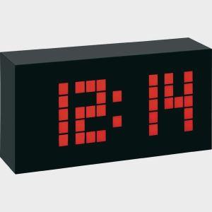 TFA Dostmann Réveil filaire numérique à Led Time block