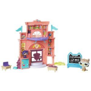 Hasbro Figurines Littlest PetShop Belle journée à l'école