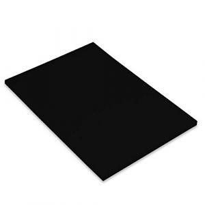Canson Iris Vivaldi Papier couleur A4 Lisse 185g/m² 21 x 29,7 cm Noir Lot de 50