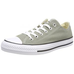 Converse Chuck Taylor CTAS Ox Canvas, Chaussures de Fitness Mixte Enfant, Vert (Dark Stucco 324), 38 EU