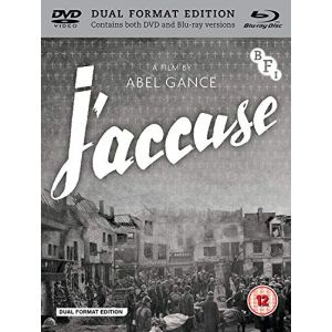 Import J'Accuse - Dual Format (Includes DVD)