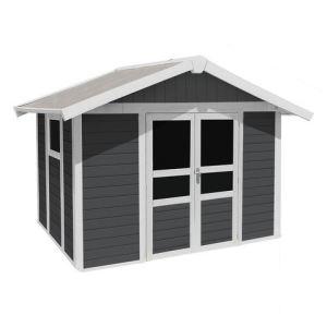 Grosfillex Basic Home - Abri de jardin en résine 7,04 m2