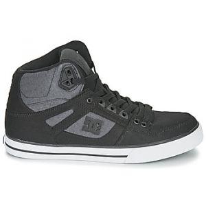 DC Shoes Baskets montantes PURE HIGH-TOP WC TX SE Noir - Taille 39,40,41,42,43,44,46,47