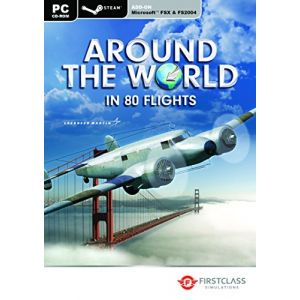 FSX : Steam Edition - Around The World In 80 Flights Add-On [PC]