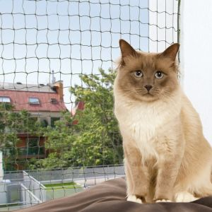 Trixie Filet de sécurité pour chat 2 x 1,5 m