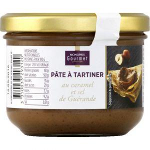 Monoprix gourmet Pâte à tartiner au caramel et sel de Guérande - Le pot de 200g