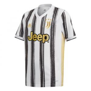 Adidas Football Juventus Home 20/21 Junior - White / Black - Taille 140 cm
